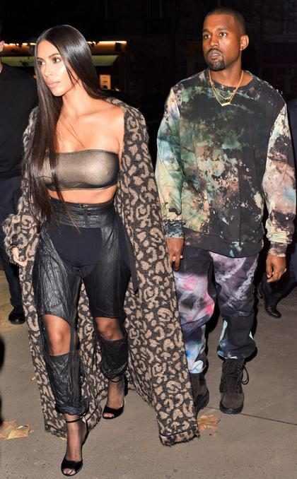 Kanye West homenageia Kim Kardashian em seu aniversário