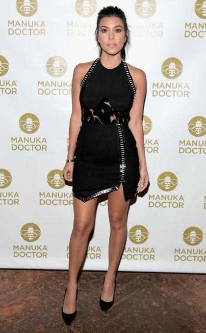 Kourtney Kardashian habla de su secreto de belleza más importante… ¡y es gratis!
