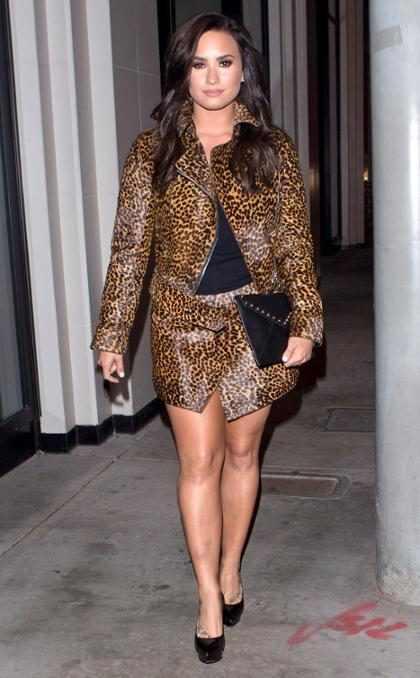 Así es como Demi Lovato le sigue los pasos a Kylie Jenner (+ Fotos)
