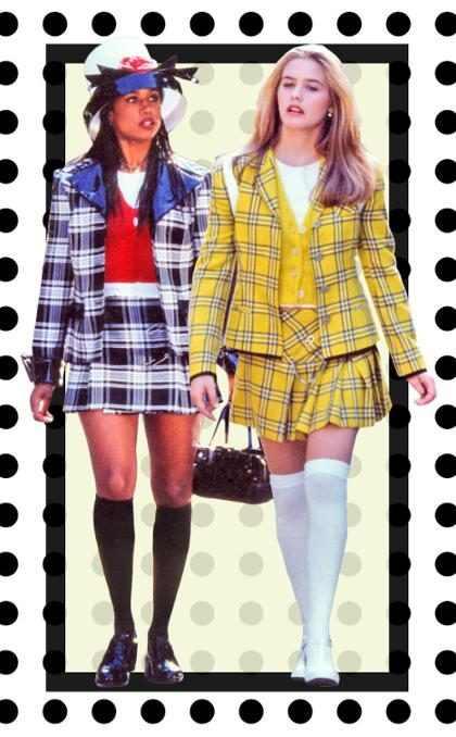 Todo mundo está usando o look xadrez de As Patricinhas de Beverly Hills