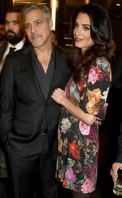 OMG! ¡Ya sabemos cuál será el sexo de los bebés de George y Amal Clooney!