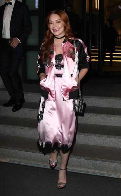 Lindsay Lohan va en busca de la corona de Kim Kardashian