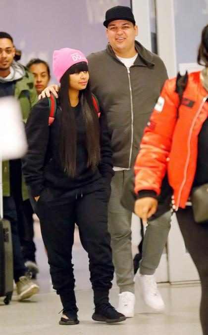 Así fue como Rob Kardashian celebró su primer aniversario junto a Blac Chyna (+ Video)