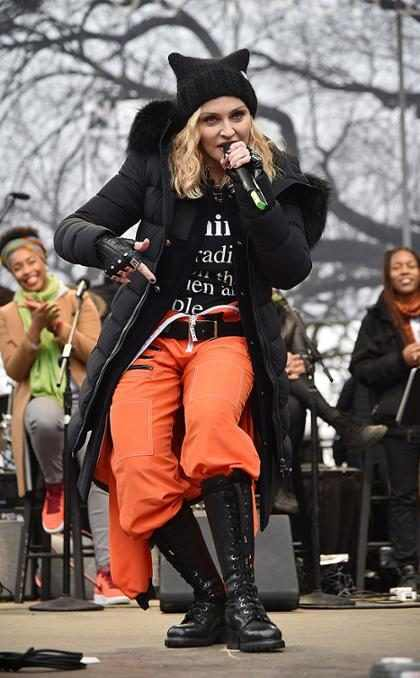 """OMG! Madonna propone """"hacer volar la Casa Blanca"""""""