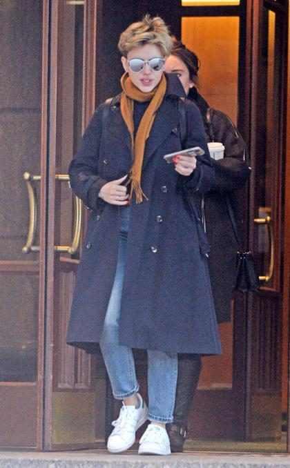 Primera aparición en público de Scarlett Johansson luego de anunciar su separación