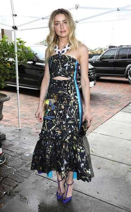 &iexcl;Mira a Amber Heard en su nuevo y sexy disfraz de Mera para <em>Aquaman</em>!