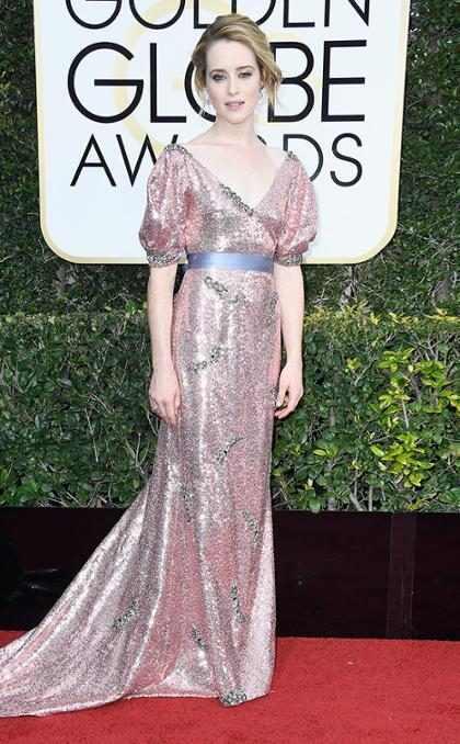 Claire Foy, de The Crown, vence como melhor atriz no Globo de Ouro 2017