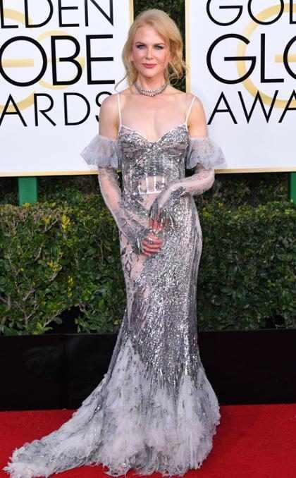 Lo que Nicole Kidman hizo en los Globos de Oro y dejó a todos desconcertados… (+ Foto)