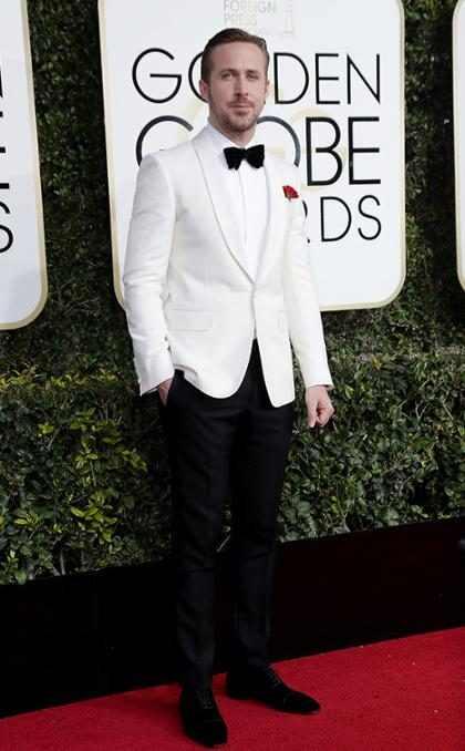 Ryan Gosling dedica troféu no Globo de Ouro às filhas Amada e Esmeralda