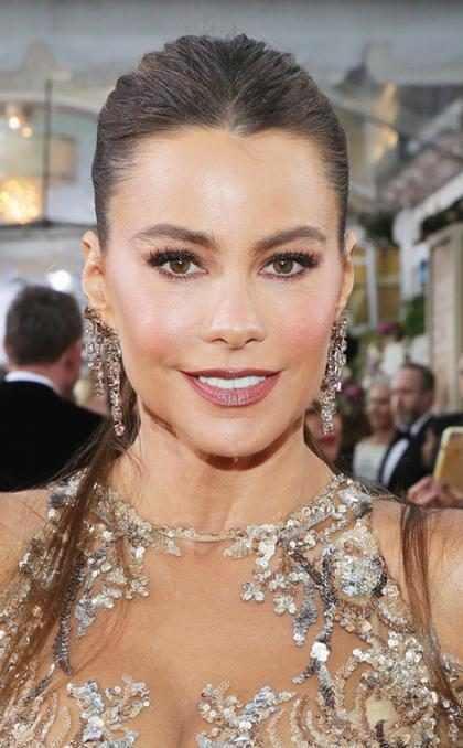 Sofía Vergara vivió en los Golden Globes la pesadilla de toda persona: ¡Alguien con su mismo vestido! (+ Fotos)