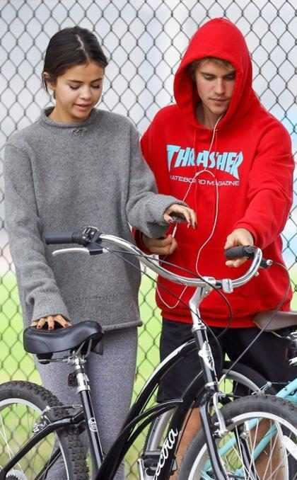 ¡Este gesto que tuvo Selena Goméz con Justin Bieber definitivamente es de novios!