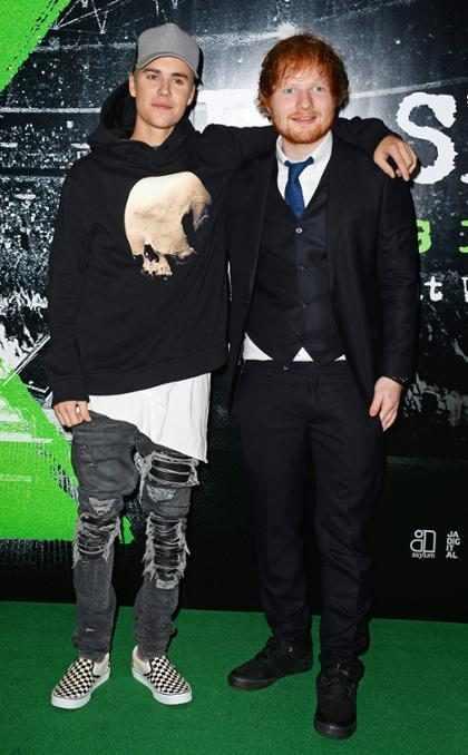 Justin Bieber se mantiene en forma con ayuda de Ed Sheeran ¡Mira cómo!