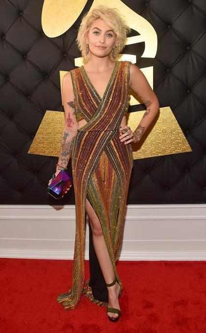 Paris Jackson retorna deslumbrante ao Grammy Awards após 7 anos