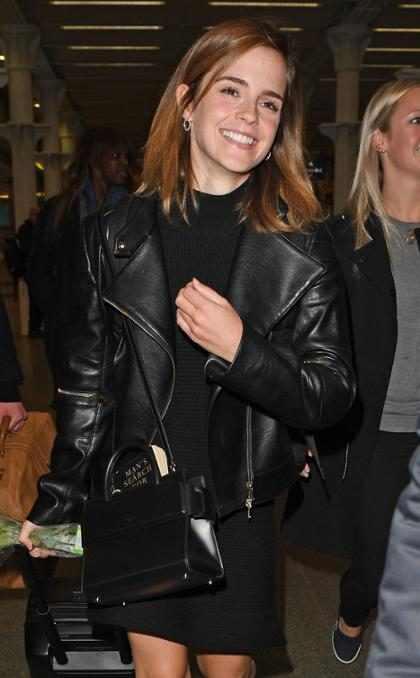 """Emma Watson sigue los pasos de Justin Bieber y le dice """"NO"""" a las selfies con sus fans ¿Por qué?"""