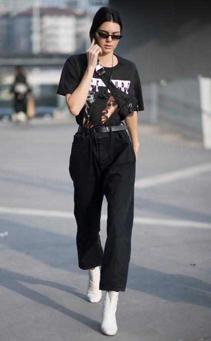 Así luce Kendall Jenner antes del Versace Fashion Show en Milán