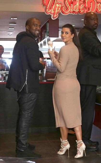 ¡Kim Kardashian y Kanye West se escaparon a las Bahamas!