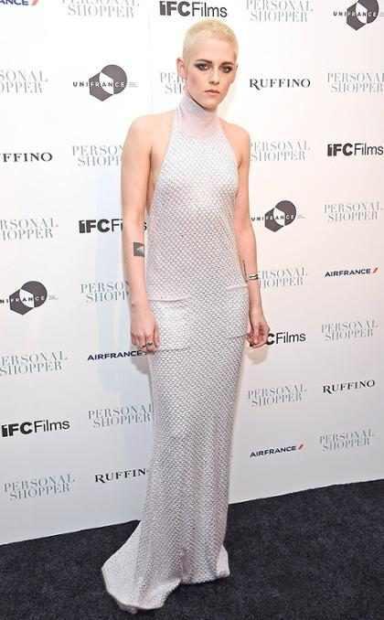 Kristen Stewart asiste a la premier de <em>Personal Shopper</em> en Nueva York