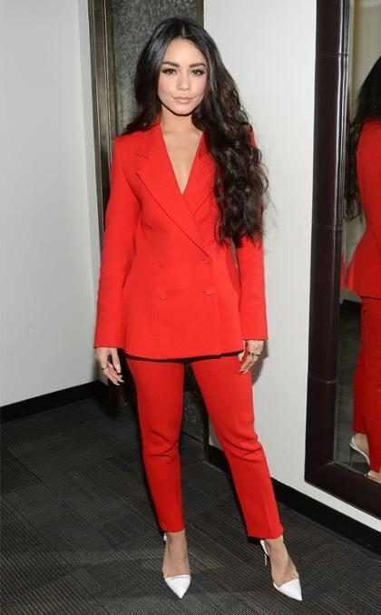 Las Mejores Vestidas de la Semana: Vibrantes en Rojo