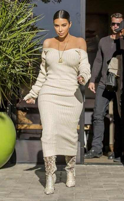 Kim Kardashian diz que vai tentar engravidar do terceiro filho