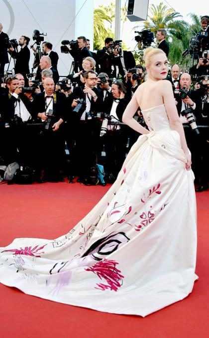 Elle Fanning deslumbra en la Gala de Apertura del Festival de Cine de Cannes