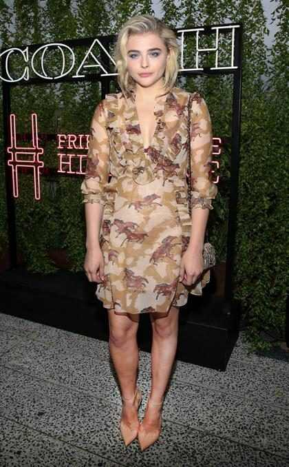 Chloë Moretz reaparece en el High Line Summer Party, en Nueva York