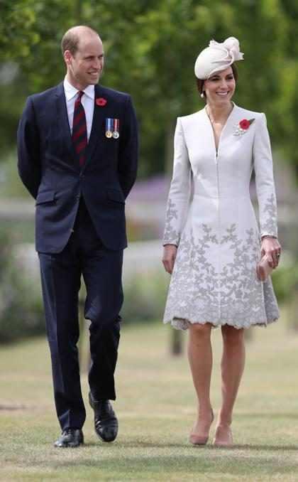 El Príncipe William comentó sobre el tercer embarazo de Kate Middleton