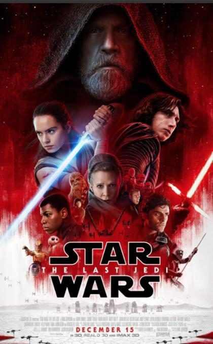 Segundo trailer oficial de Star Wars: Os Últimos Jedi é lançado