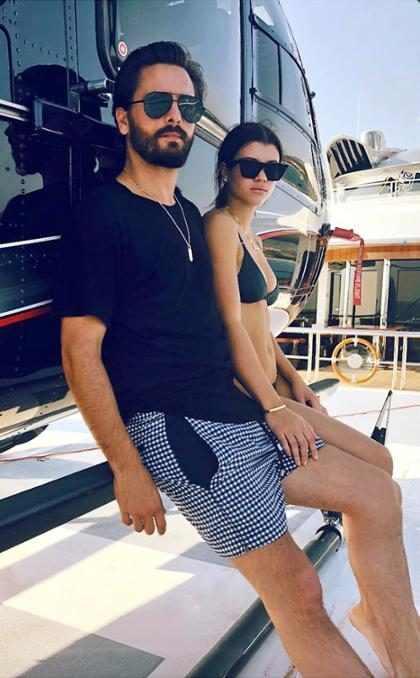 Todo indica que Scott Disick sí se está tomando muy en serio su relación con Sofia Richie