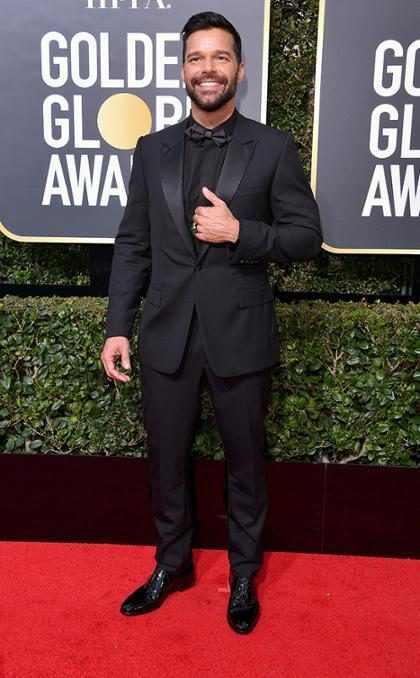 """Ricky Martin habló en la #AlfombraRojaE! de planes familiares: """"¡Quiero cuatro pares más de gemelos!"""""""