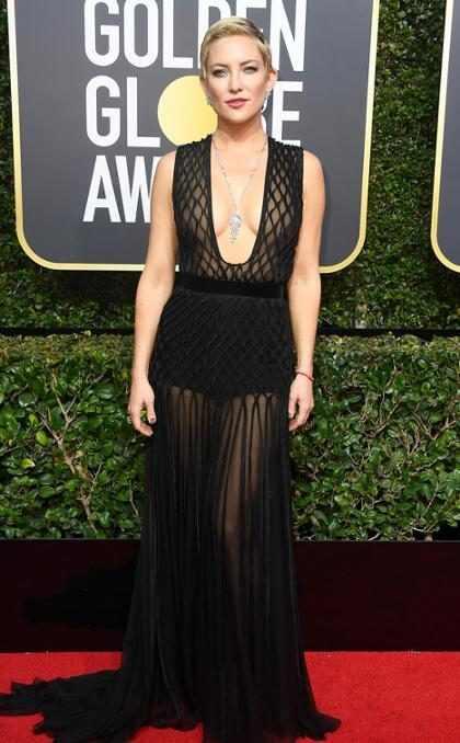 """Kate Hudson recordó que estaba """"muy borracha"""" después de ganar el Globo de Oro en 2001"""