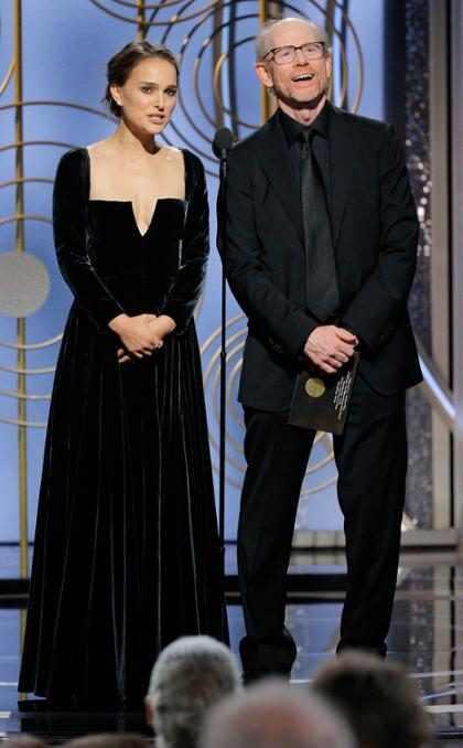 Y así, Natalie Portman castigó a los Golden Globes de manera magistral
