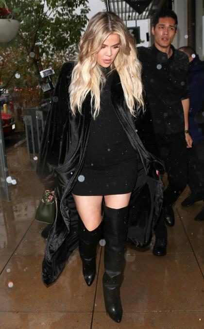 Así fueron los dramáticos últimos días de Khloe Kardashian antes de convertirse en madre