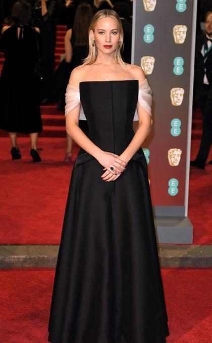 Jennifer Lawrence desat&oacute; la furia de los fans tras su paso por los <i>BAFTA 2018</i>