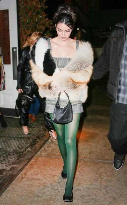 Kendall Jenner de fiesta en la Gran Manzana en medio del New York Fashion Week