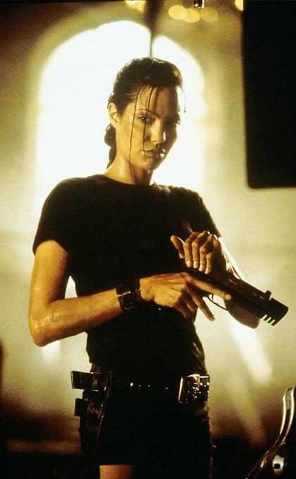 Angelina Jolie se reencontr&oacute; con <em>Tomb Raider</em> en compa&ntilde;&iacute;a de sus hijos