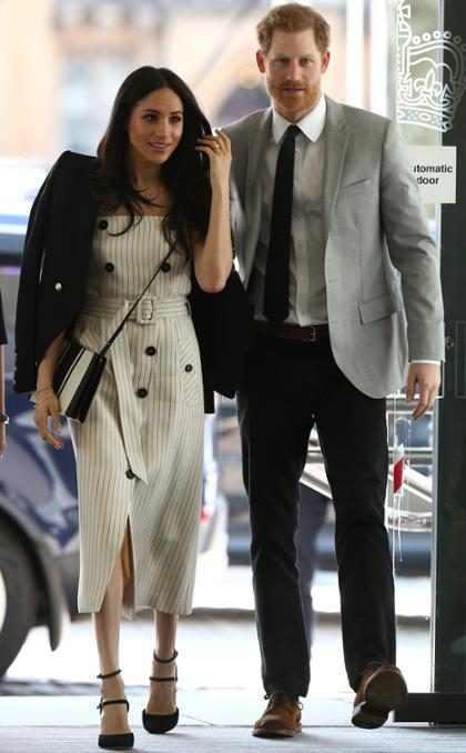 Meghan Markle quebra tradição ao acompanhar Príncipe Harry em fórum