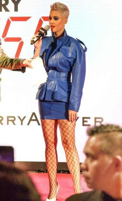Katy Perry anunciando su gira por Australia
