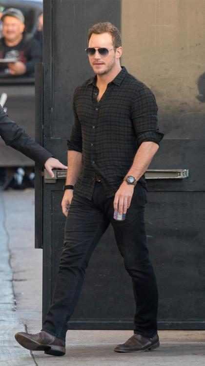 Chris Pratt de paseo por Los Ángeles
