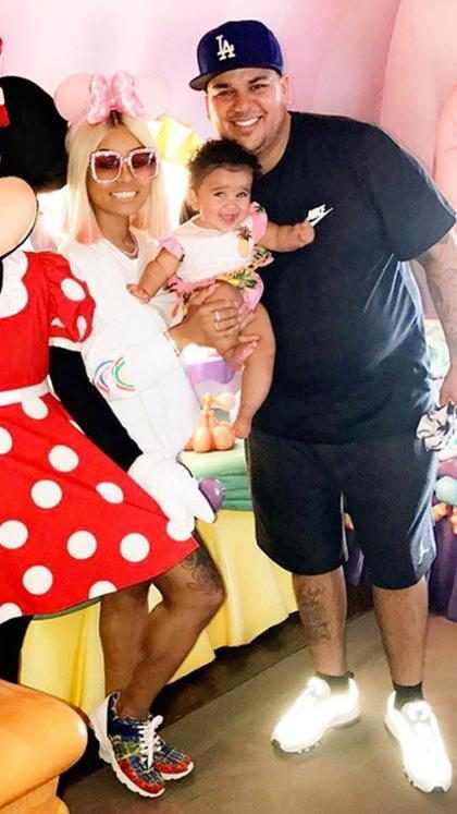 Rob Kardashian y Blac Chyna llegan a un acuerdo por la custodia de su hija Dream