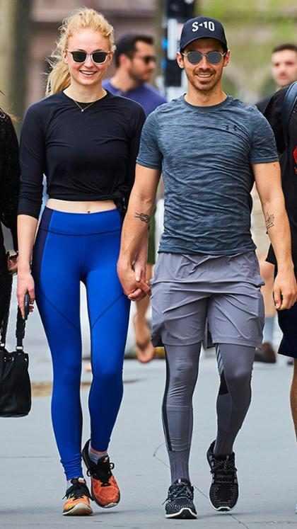 Sophie Turner y Joe Jonas salen en público por primera vez desde que anunciaron su compromiso