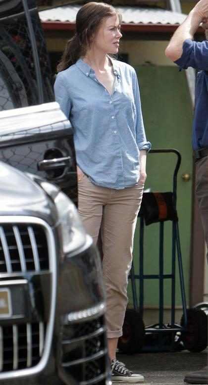 Alerta de cambio de look: ¡Nicole Kidman se tiñó el cabello de marrón!