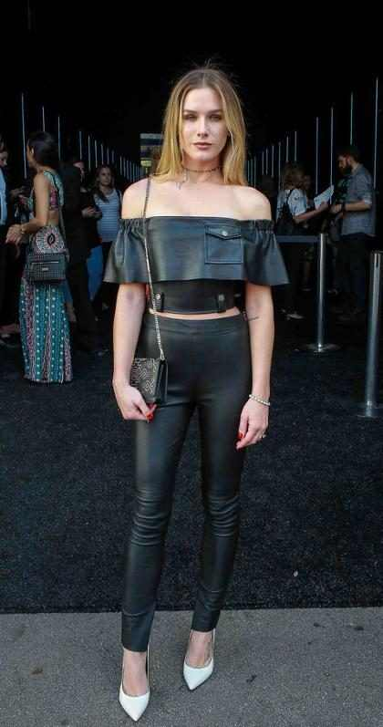 Fiorella Mattheis revela ser criteriosa na hora de comprar itens fashion
