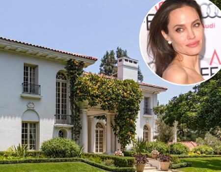 Angelina Jolie Drops 25 Million On Historic Cecil B