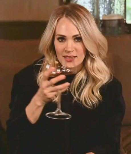 Carrie Underwood Is Even More Relatable After Performing ''Drinking Alone'' on ACM Country Special