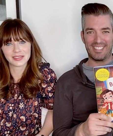 Zooey Deschanel and Boyfriend Jonathan Scott Read His Kids' Book in Adorable Video
