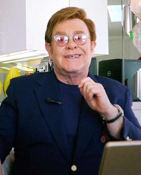 Elton John's Living Room Concert Raises Over $1 Million for Coronavirus Relief Efforts