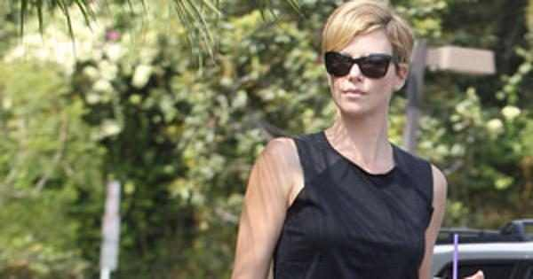 Charlize Theron Tears Up Talking About Son Jackson He S