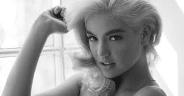 Kate Upton Poses Topless, Channels Marilyn Monroe?See the