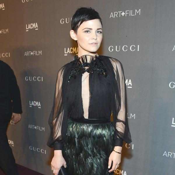 Ginnifer goodwin from gucci lacma art film gala red carpet - Sofia gucci diva ...