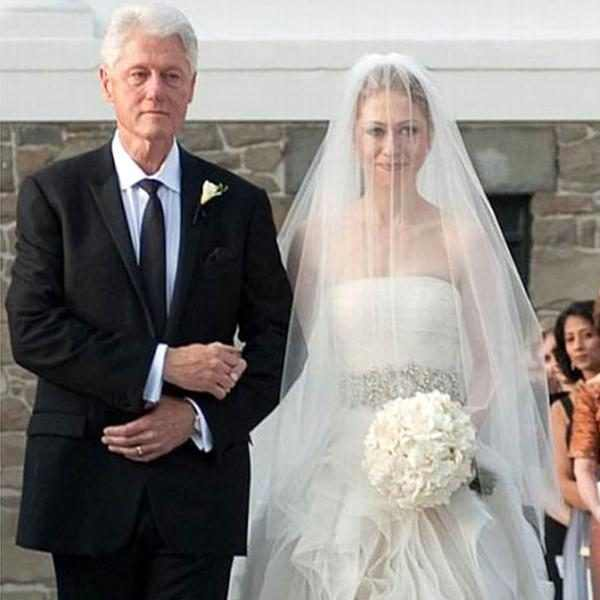 Chelsea Clinton Wedding Photography: Chelsea Clinton From Famous Brides In Vera Wang Wedding